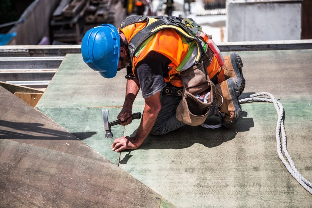 ochrona życia na placu budowy